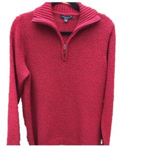 Cozy Red Sweater Plus Size 1X